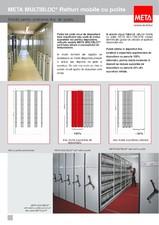 Rafturi mobile de arhiva META SISTEME DE RAFTURI
