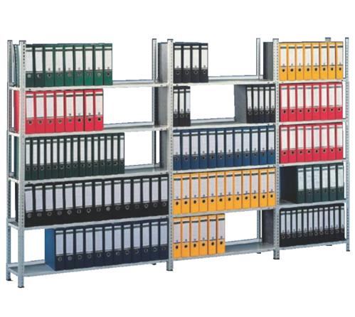 Rafturi cu suruburi pentru birou META COMPACT META SISTEME DE RAFTURI - Poza 2