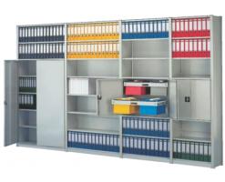 """Sisteme de arhivare META COMPACTraft cu suruburi - este """"clasicul"""" intre rafturi - nu sunt complicate, se monteaza usor iar vinclurile de fixare ofera o buna stabilitate.Peste tot unde locul de depozitare este insuficient sau unde ar trebui suprafete noi pentru depozitare, rafturile mobileMETA MULTIBLOCsunt baza ideala a conceptului de imbunatatire.In multe domenii ale logisticii se acceseaza rar marfa depozitata precum in arhive sau depozite de jante si anvelope."""