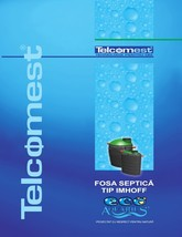 Fosa septica ecologica TELCOMEST
