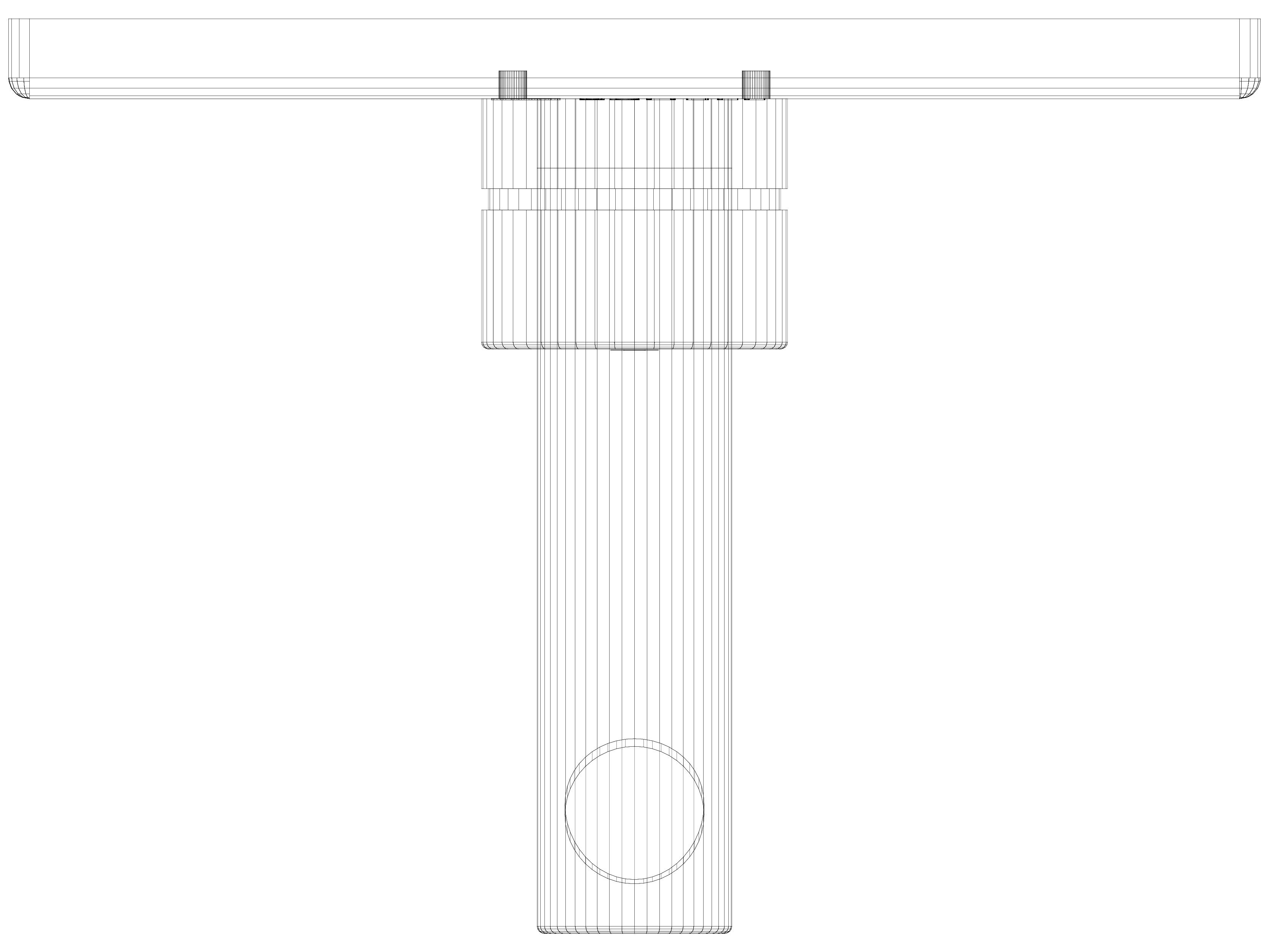Pagina 1 - CAD-DWG Baterie cu montaj in perete pentru lavoar 110mm SCHELL Detaliu de produs LINUS...