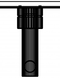 Baterie cu montaj in perete pentru lavoar 110mm