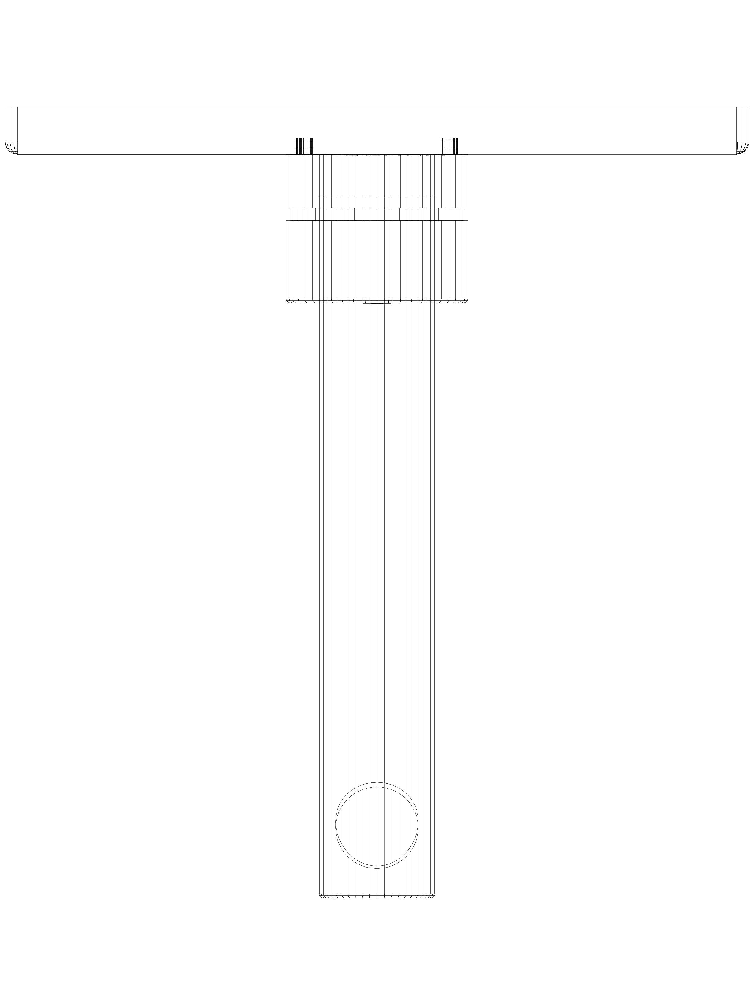 Pagina 1 - CAD-DWG Baterie cu montaj in perete pentru lavoar 170mm SCHELL Detaliu de produs LINUS...