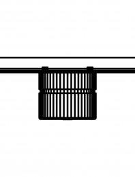 Baterie cu montare in perete pentru dus SCHELL LINUS D-SC-M 01 832 06 99