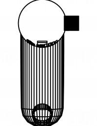 Baterie cu senzor electronic pentru lavoar