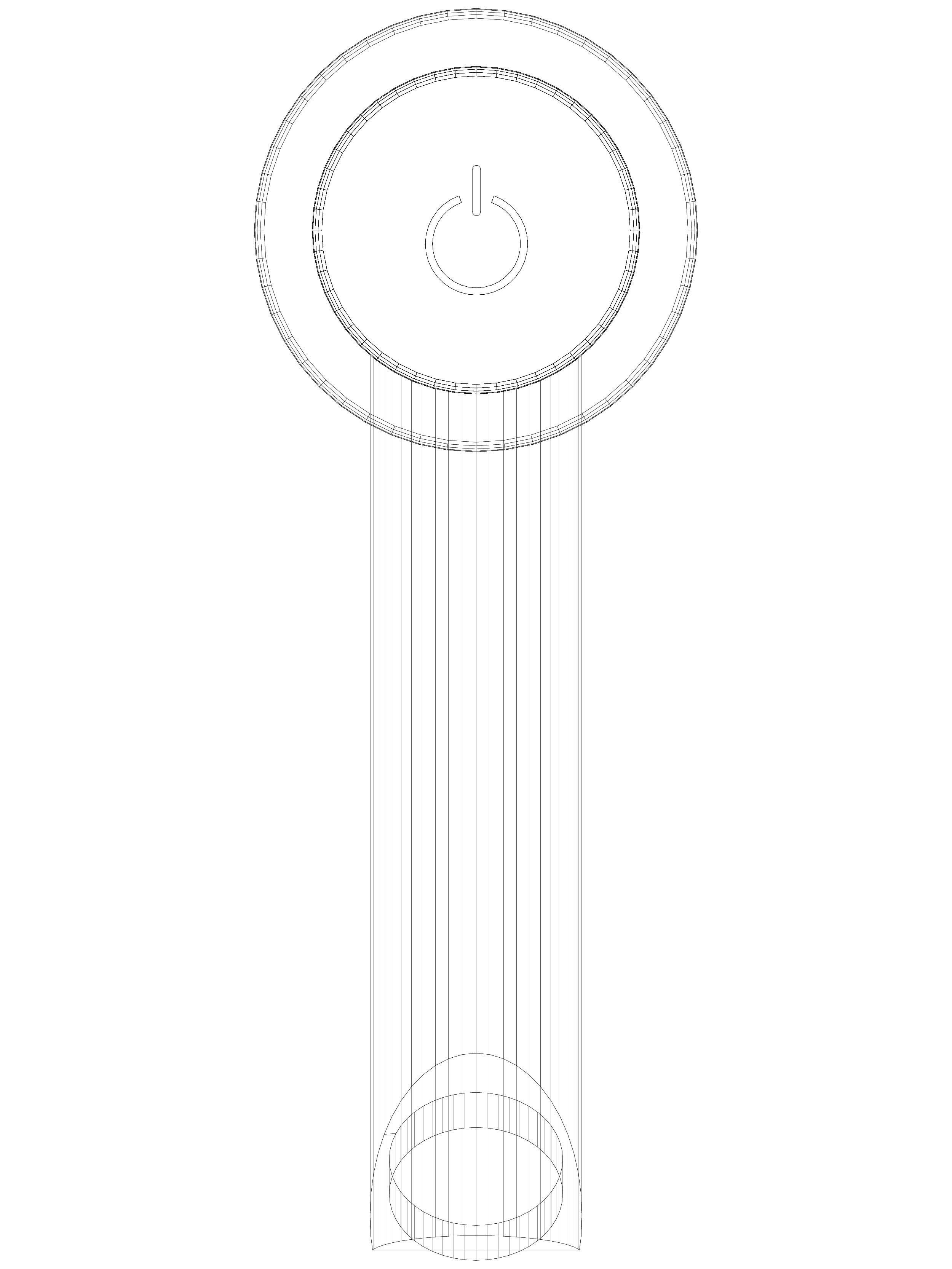 Pagina 1 - CAD-DWG Baterie cu temporizare pentru lavoar SCHELL Detaliu de produs