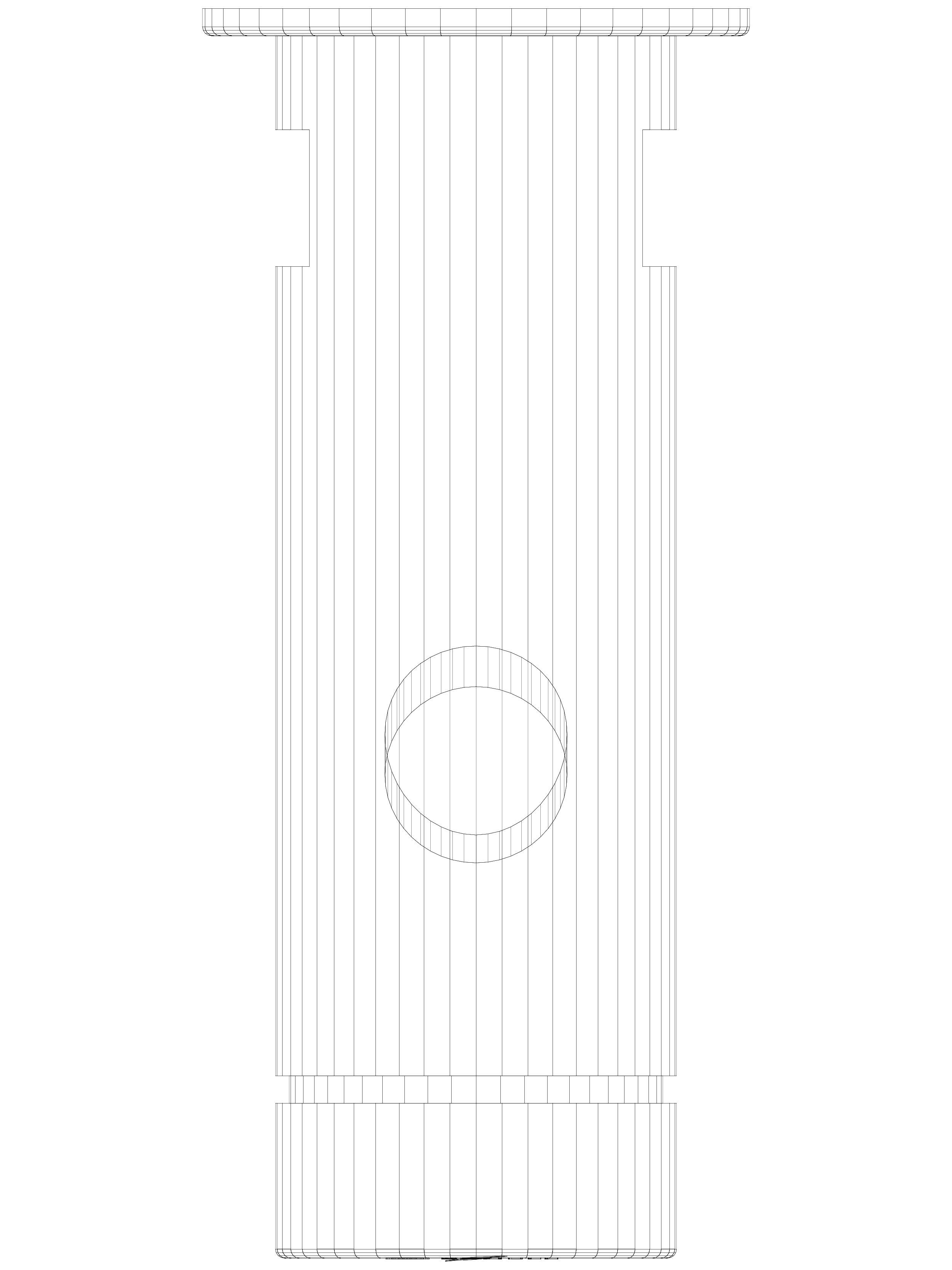 Pagina 1 - CAD-DWG Baterie cu temporizator cu montare in perete SCHELL Detaliu de produs PETIT SC...