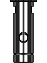 Baterie cu temporizator cu montare in perete SCHELL