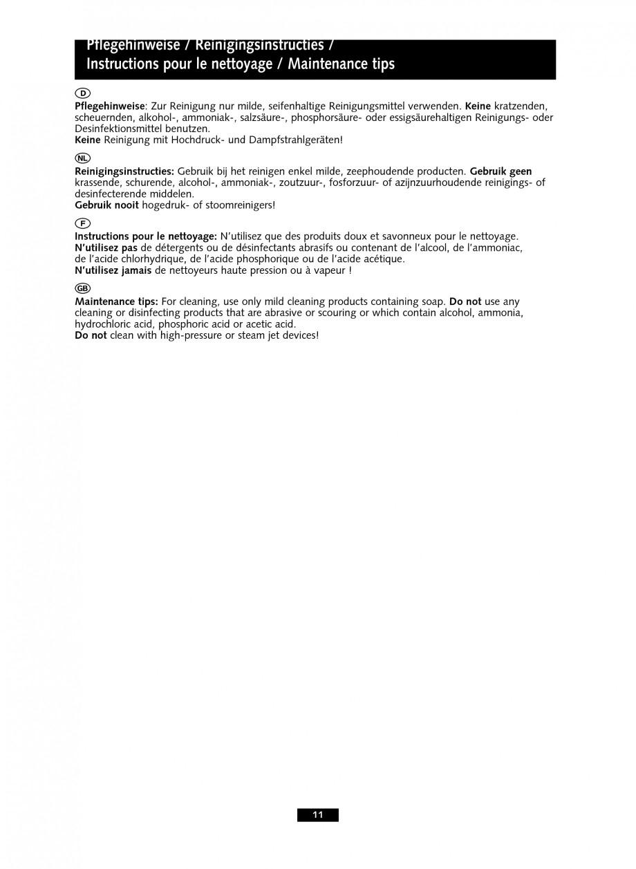 Pagina 11 - Baterii cu senzor electronic pentru lavoare - cu teava de scurgere lunga SCHELL PURIS E ...