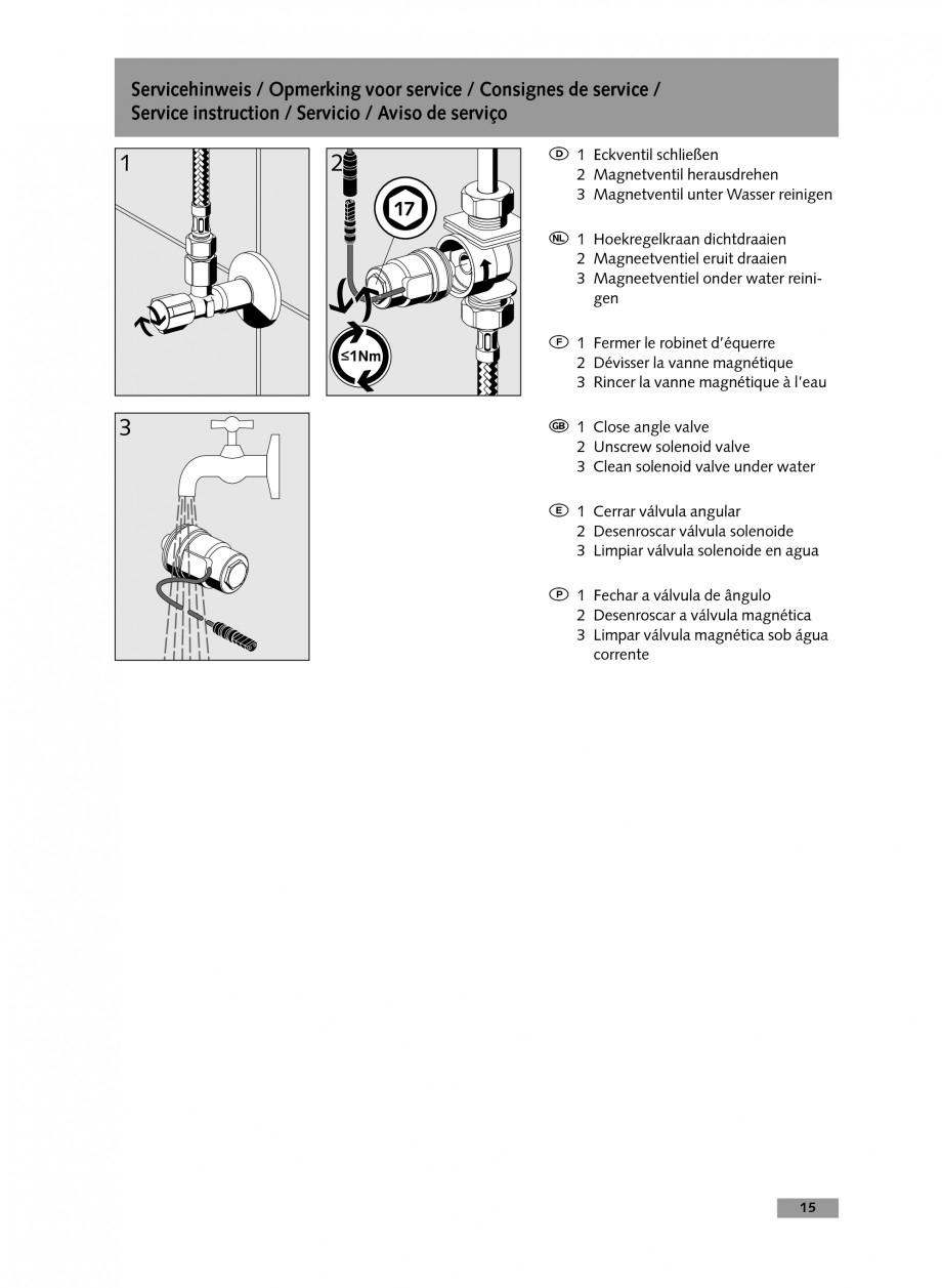 Pagina 15 - Baterie cu temporizare pentru lavoar SCHELL Instructiuni montaj, utilizare Engleza,...