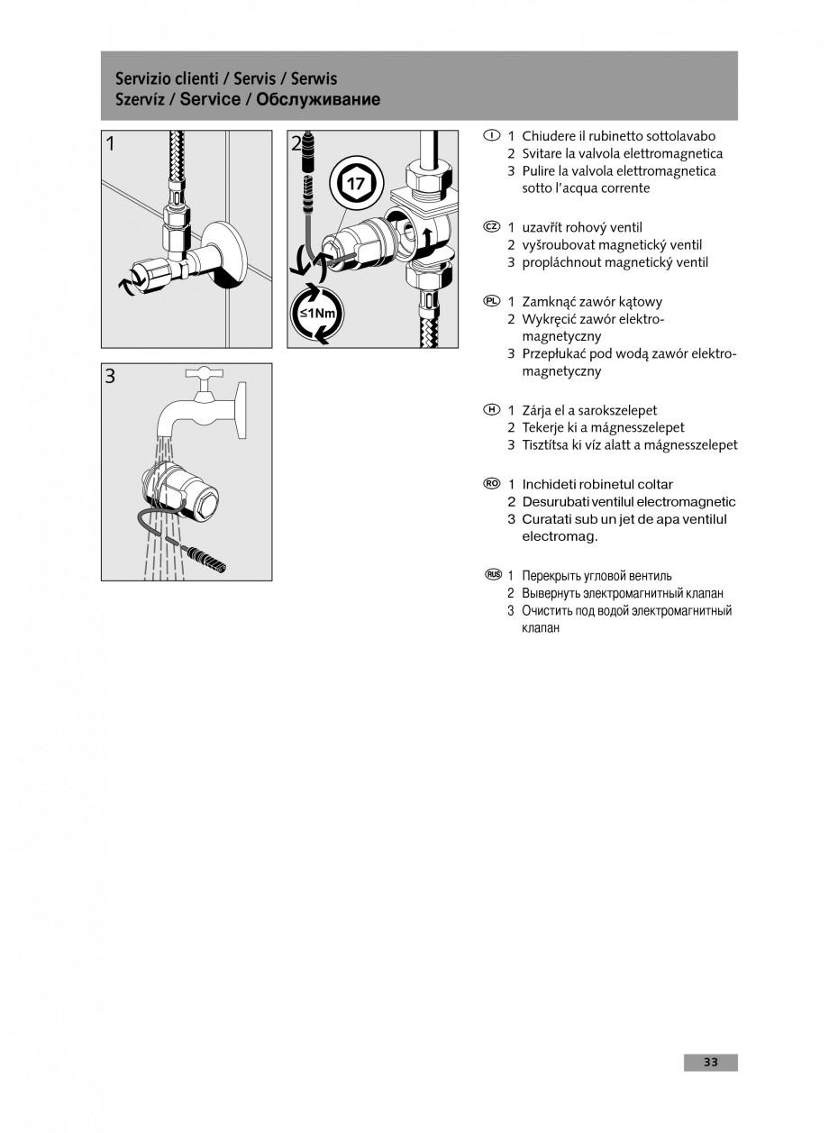 Pagina 33 - Baterie cu temporizare pentru lavoar SCHELL Instructiuni montaj, utilizare Engleza,...