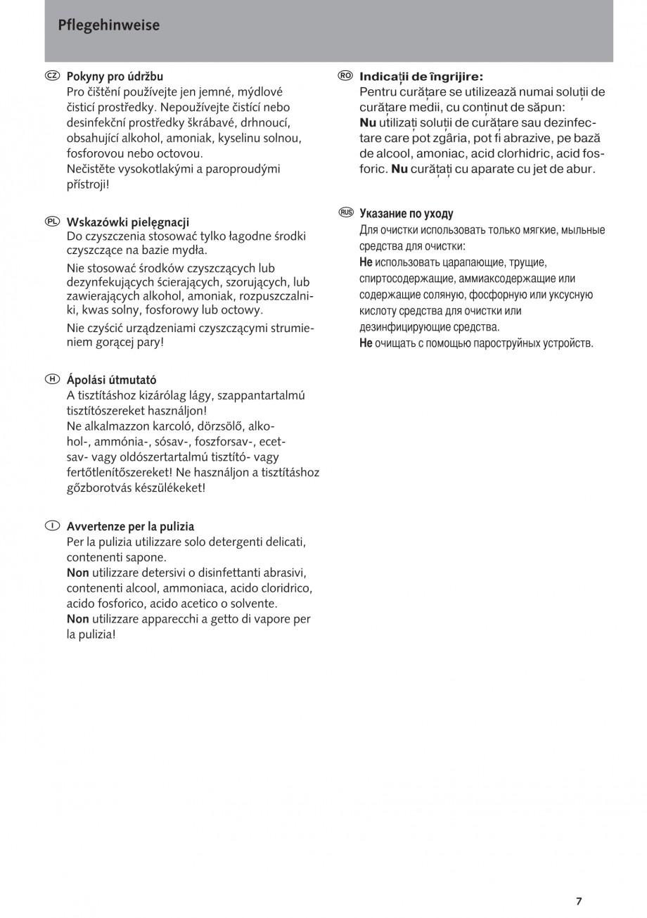 Pagina 7 - Baterie cu temporizator cu montare in perete SCHELL PETIT SC Instructiuni montaj,...