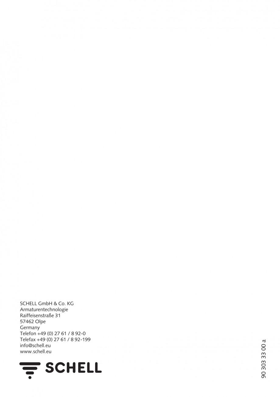 Pagina 8 - Baterie cu temporizator cu montare in perete SCHELL PETIT SC Instructiuni montaj,...