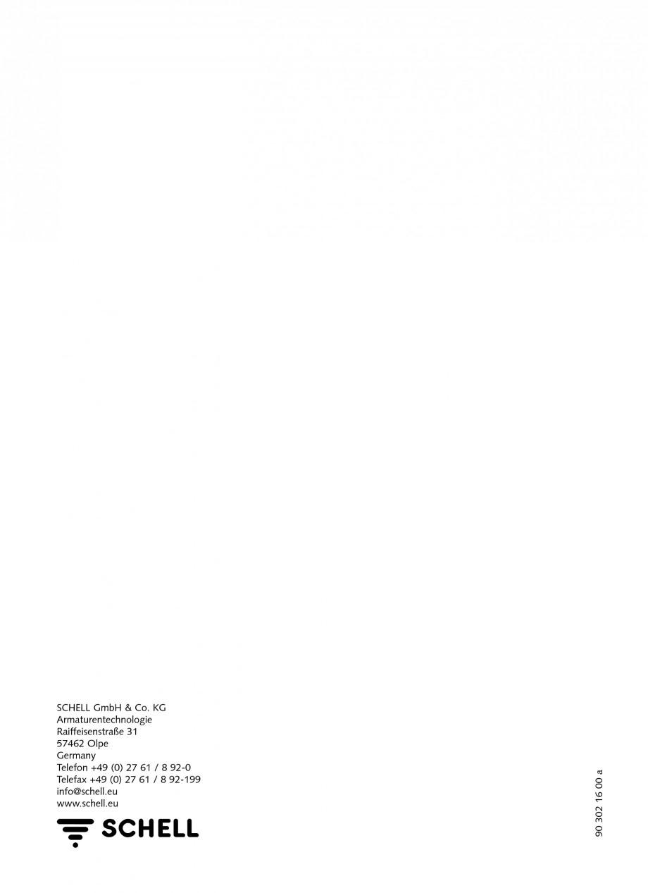 Pagina 12 - Baterii cu montare in perete pentru lavoare SCHELL LINUS W-SC-M, LINUS W-SC-V...