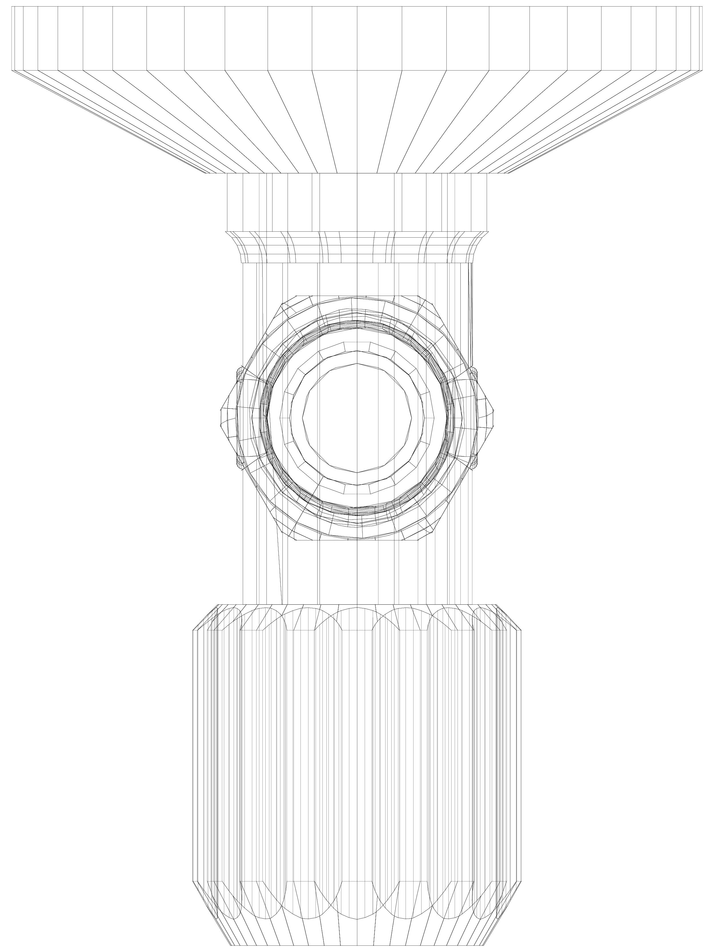 Pagina 1 - CAD-DWG Robinet coltar normal cu filtru SCHELL Detaliu de produs Robinete de colt...