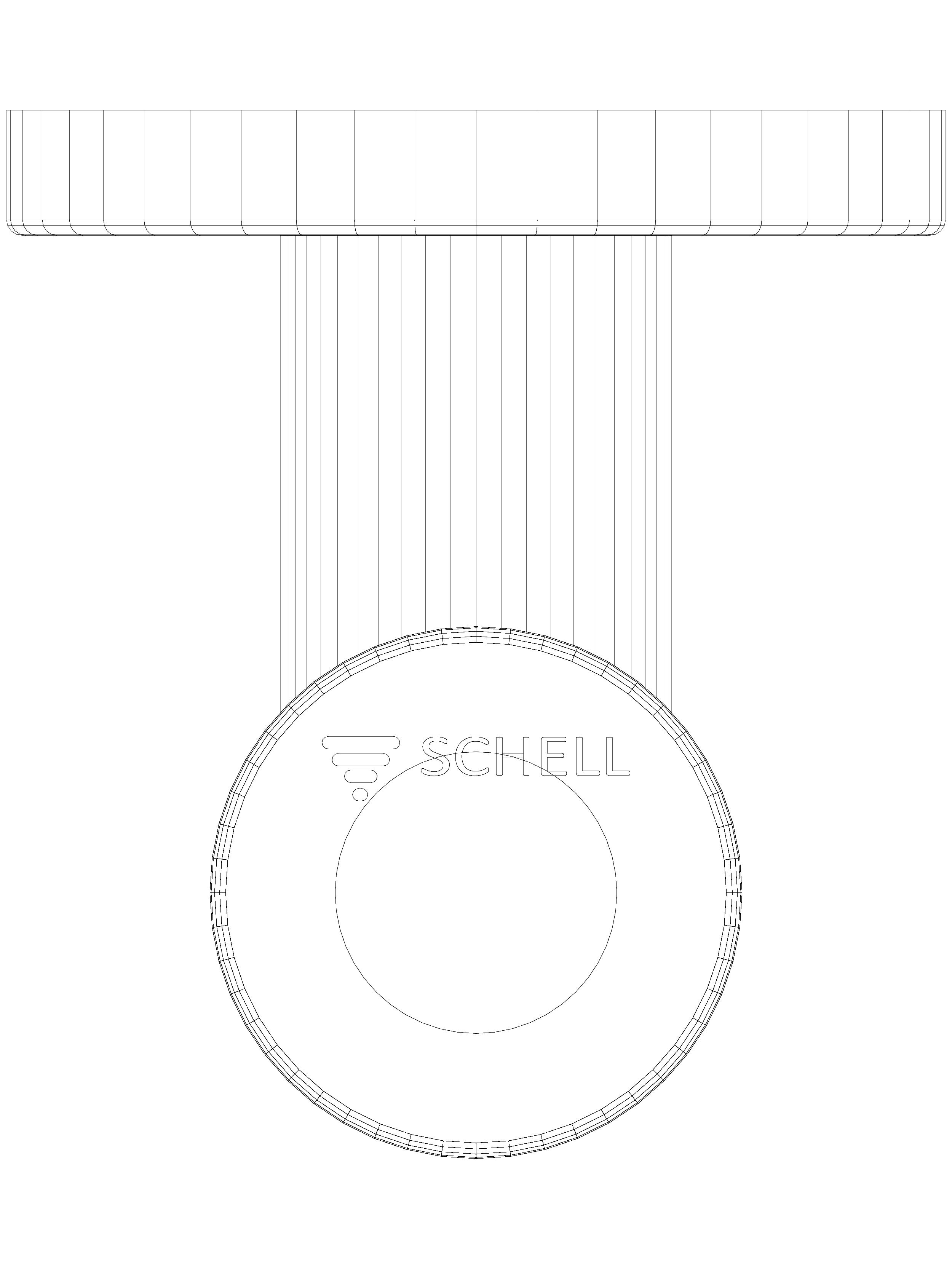 Pagina 1 - CAD-DWG Robinet pentru spalare pisoar SCHELLOMAT BASIC SCHELL Detaliu de produs Robinete ...