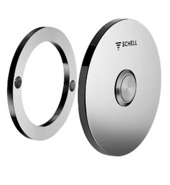 Prezentare produs Robinete cu senzor electronic cu montare in perete pentru spalare WC SCHELL - Poza 5
