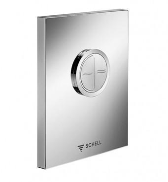 Prezentare produs Robinete cu actionare mecanica cu montare in perete pentru spalare WC SCHELL - Poza 2