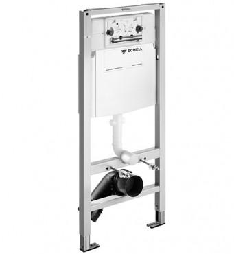 Prezentare produs Module WC cu montare in perete SCHELL - Poza 1
