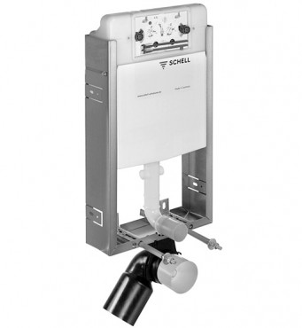 Prezentare produs Module WC cu montare in perete SCHELL - Poza 2