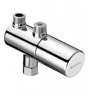 Prezentare produs Robinete de colt cu termostat SCHELL - Poza 2