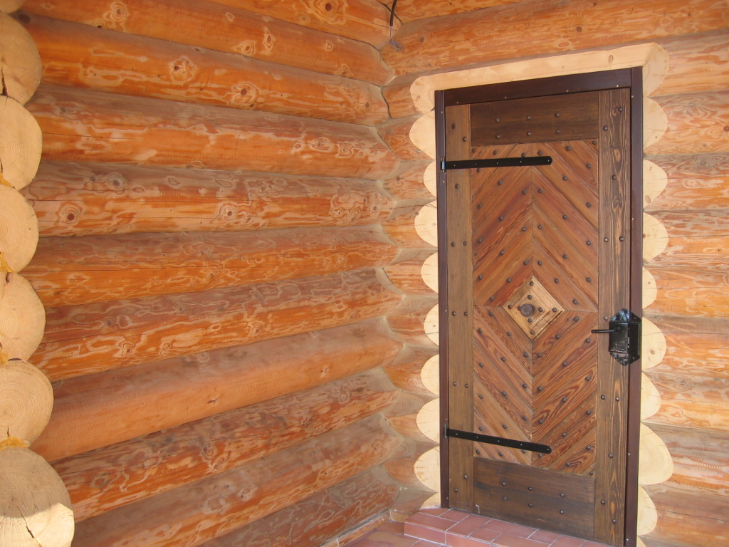 Case din lemn rotund NATURAL LIVING - Poza 10