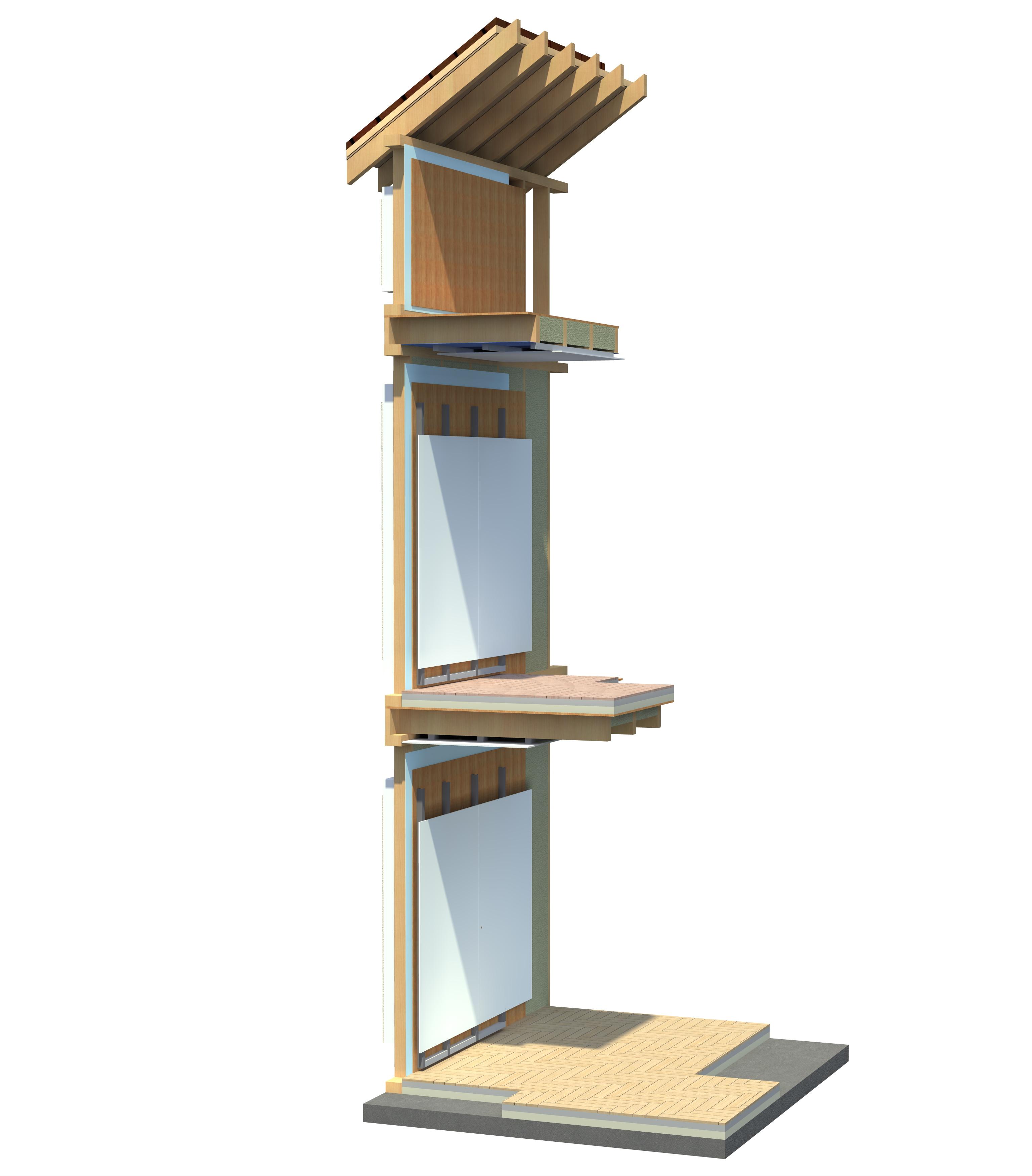 Structuri case din lemn NATURAL LIVING - Poza 6