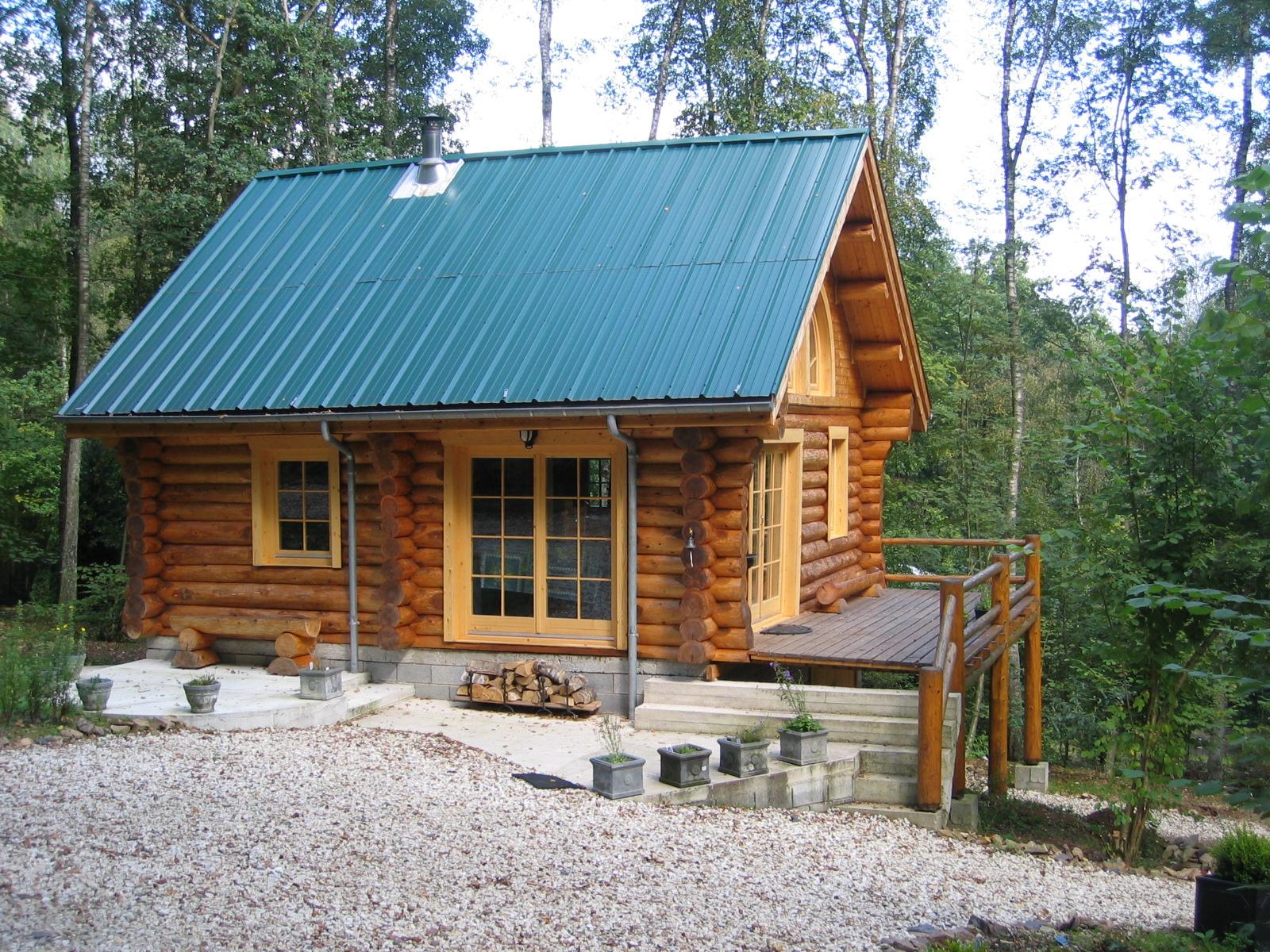 Case din lemn rotund NATURAL LIVING - Poza 2