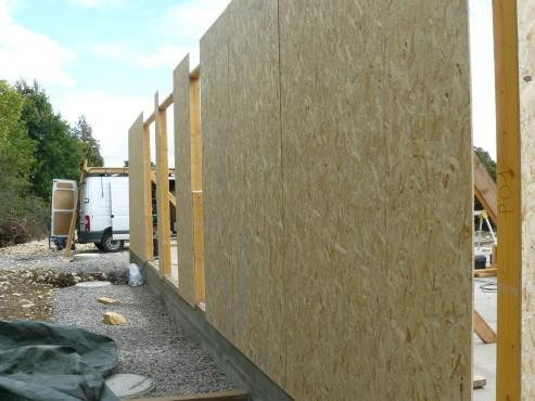 Fazele constructive ale unei case din lemn la cheie NATURAL LIVING - Poza 10