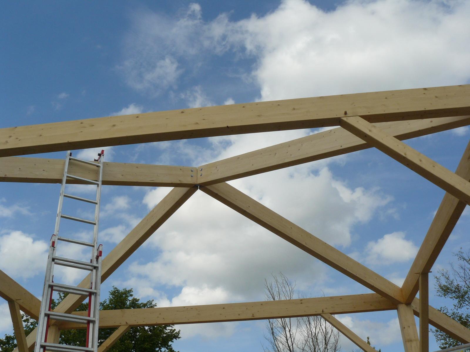 Fazele constructive ale unei case din lemn la cheie NATURAL LIVING - Poza 27