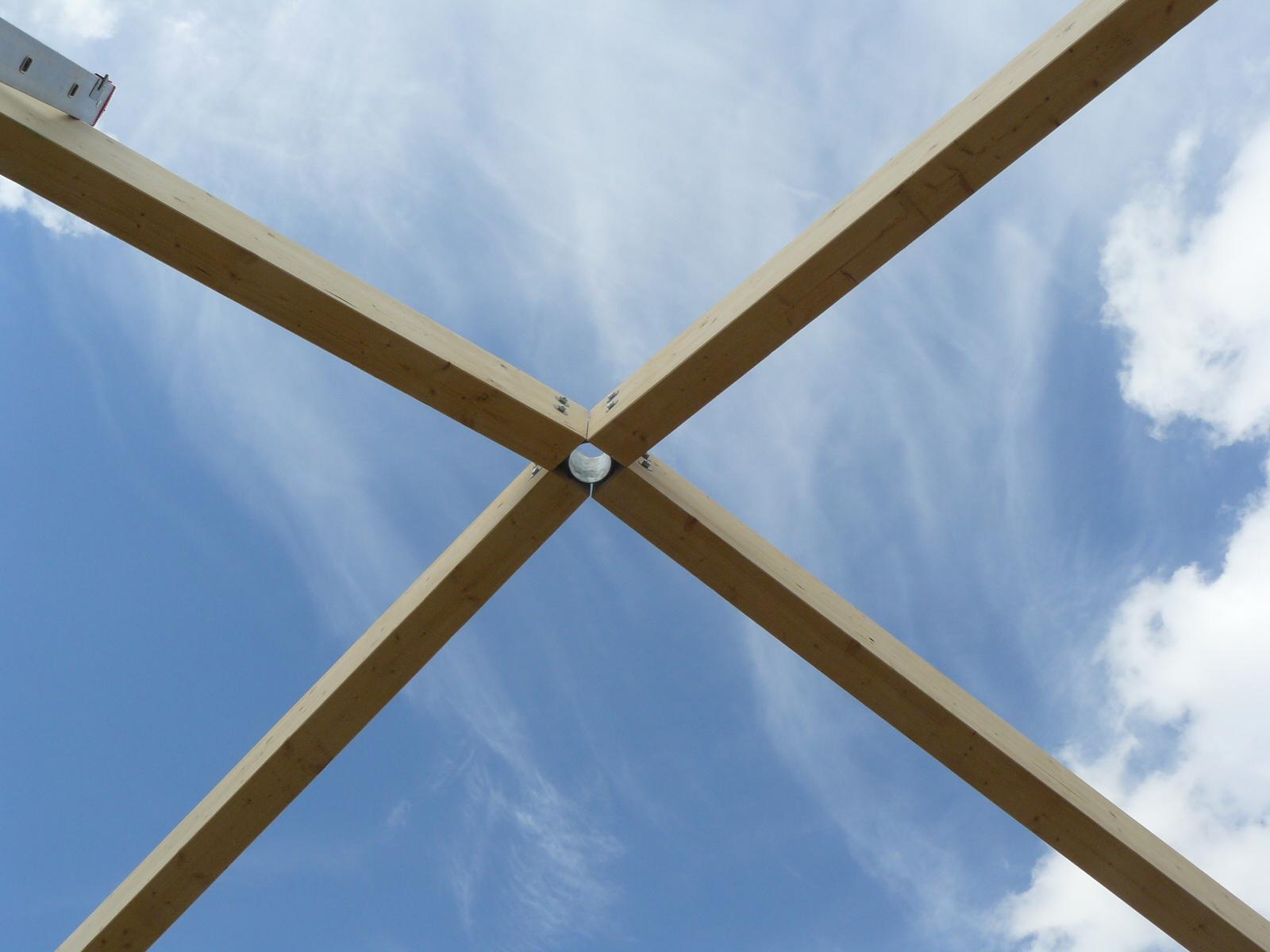 Fazele constructive ale unei case din lemn la cheie NATURAL LIVING - Poza 29