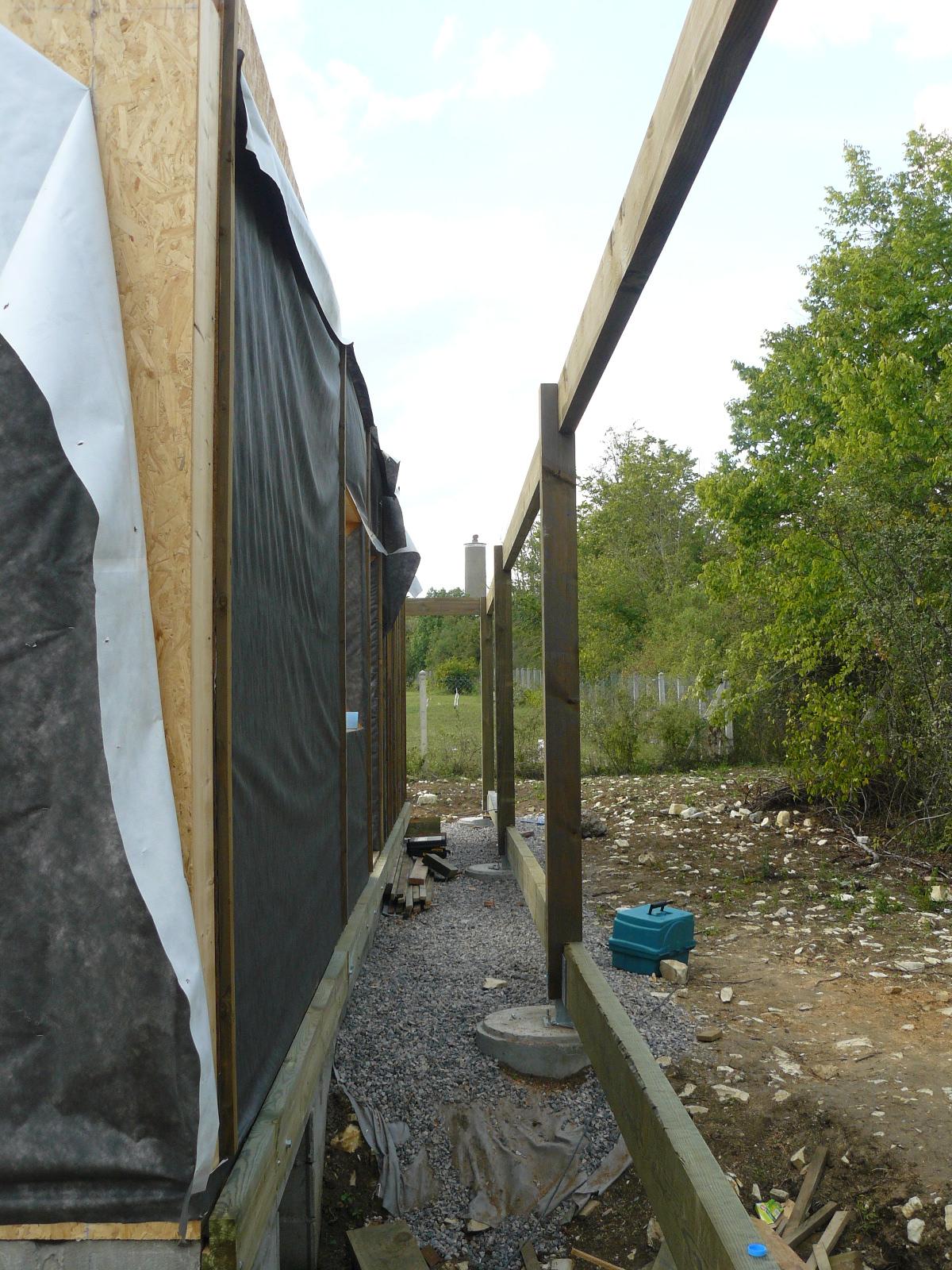 Fazele constructive ale unei case din lemn la cheie NATURAL LIVING - Poza 30