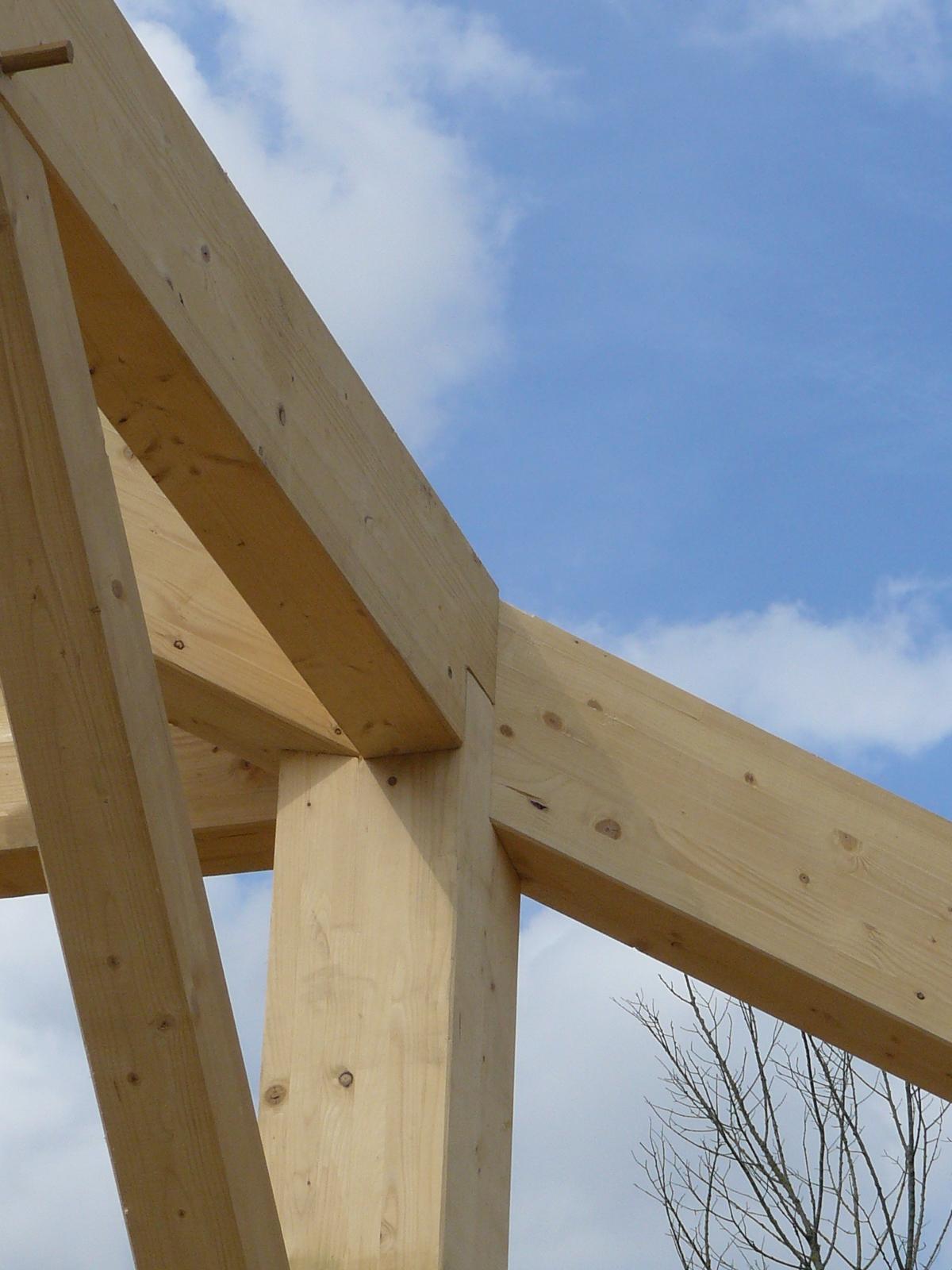 Fazele constructive ale unei case din lemn la cheie NATURAL LIVING - Poza 35