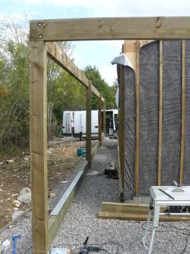 Fazele constructive ale unei case din lemn la cheie NATURAL LIVING - Poza 37