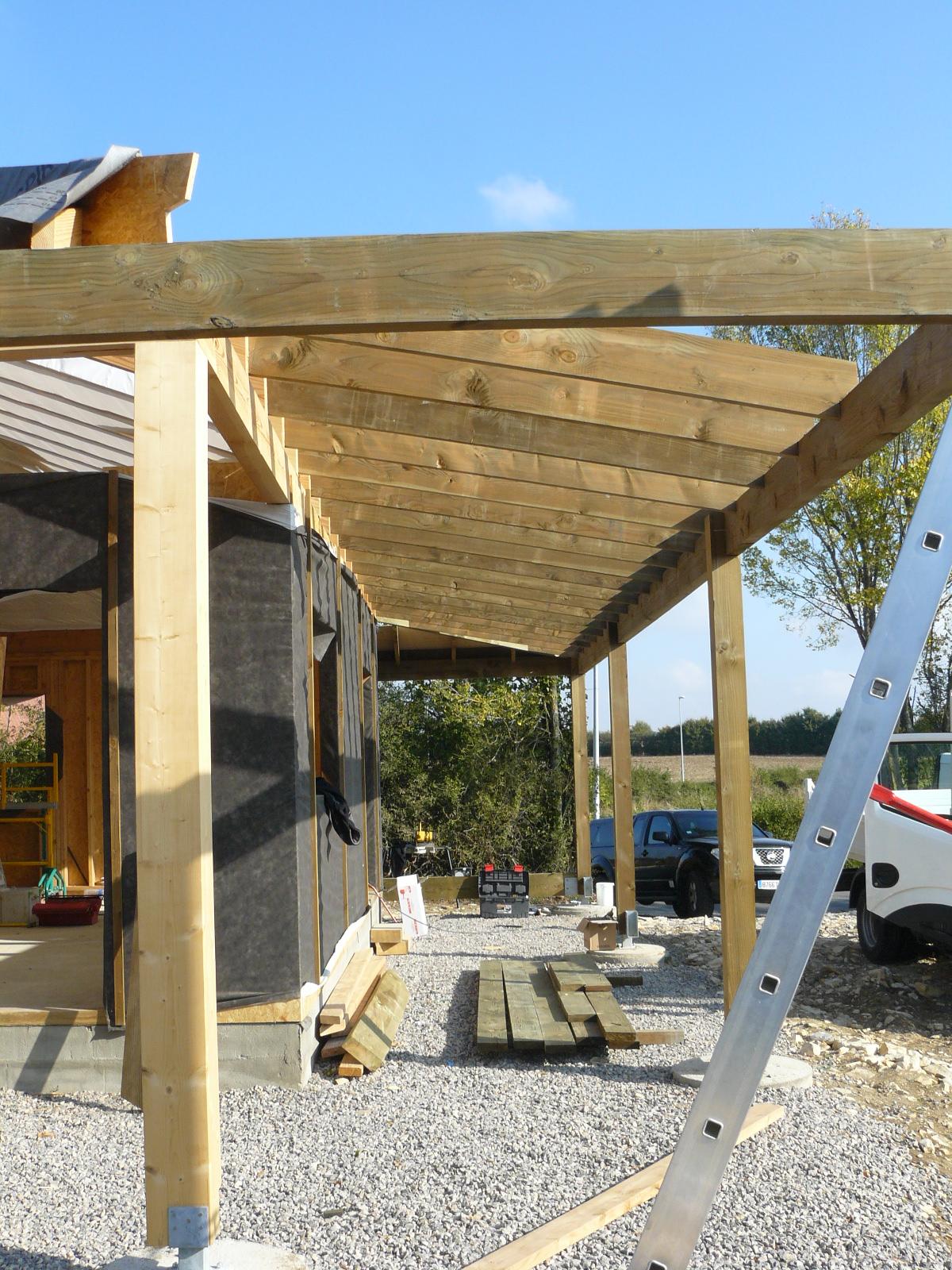 Fazele constructive ale unei case din lemn la cheie NATURAL LIVING - Poza 52