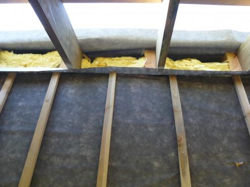 Fazele constructive ale unei case din lemn la cheie NATURAL LIVING - Poza 58