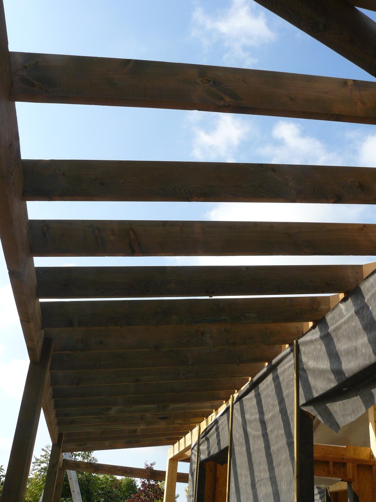 Fazele constructive ale unei case din lemn la cheie NATURAL LIVING - Poza 59