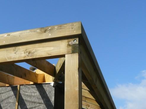 Fazele constructive ale unei case din lemn la cheie NATURAL LIVING - Poza 60