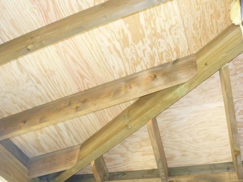 Fazele constructive ale unei case din lemn la cheie NATURAL LIVING - Poza 67