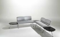 Mobilier sali de asteptare Este mobilierul tipic reprezentat prin scaune ergonomice, scaune pentru vizitatori, fotolii si canapele adaptate spatiilor de asteptare, sisteme de scaune tip bancheta, scaune de conferinta si training cu sau fara tablita.