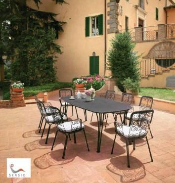 Prezentare produs Mese, scaune exterior SENSIO - Poza 8