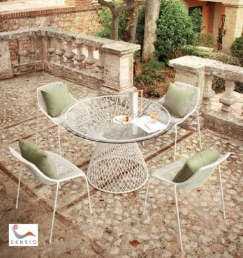 Prezentare produs Mese, scaune exterior SENSIO - Poza 12