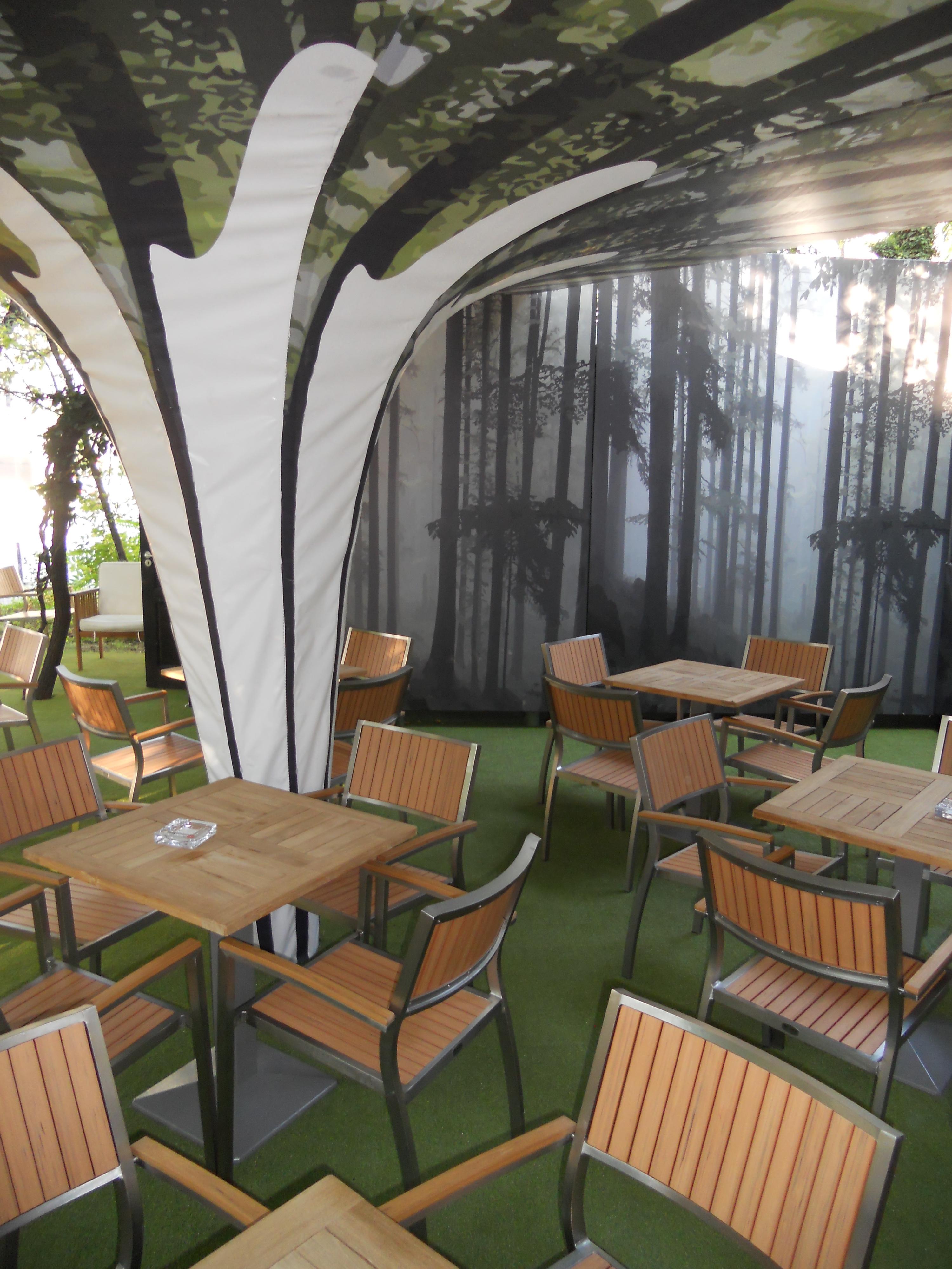 Mese, scaune exterior - Terasa Antipa SENSIO - Poza 2