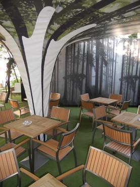 Lucrari, proiecte Mese, scaune exterior - Terasa Antipa SENSIO - Poza 2