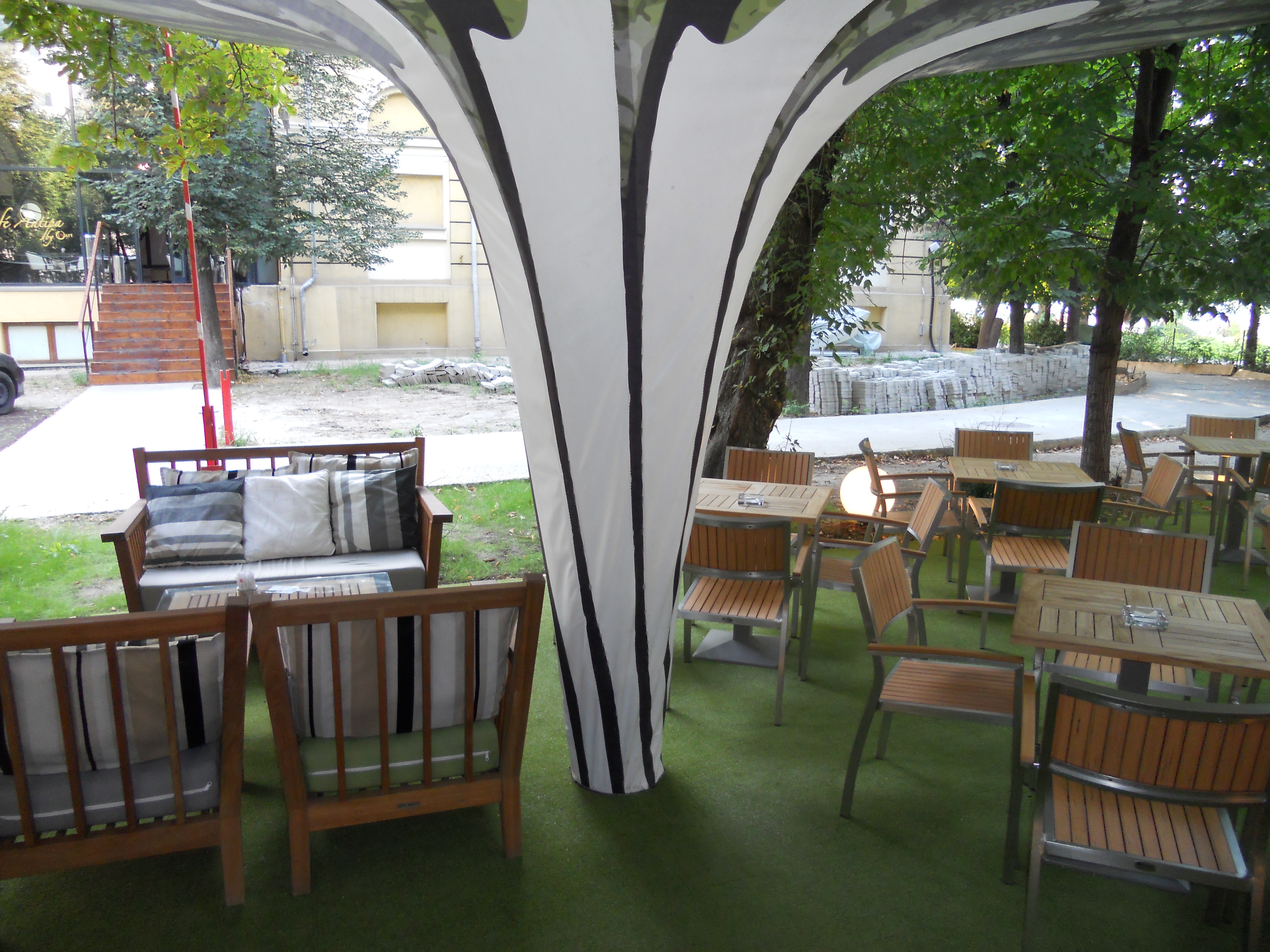 Mese, scaune exterior - Terasa Antipa SENSIO - Poza 3