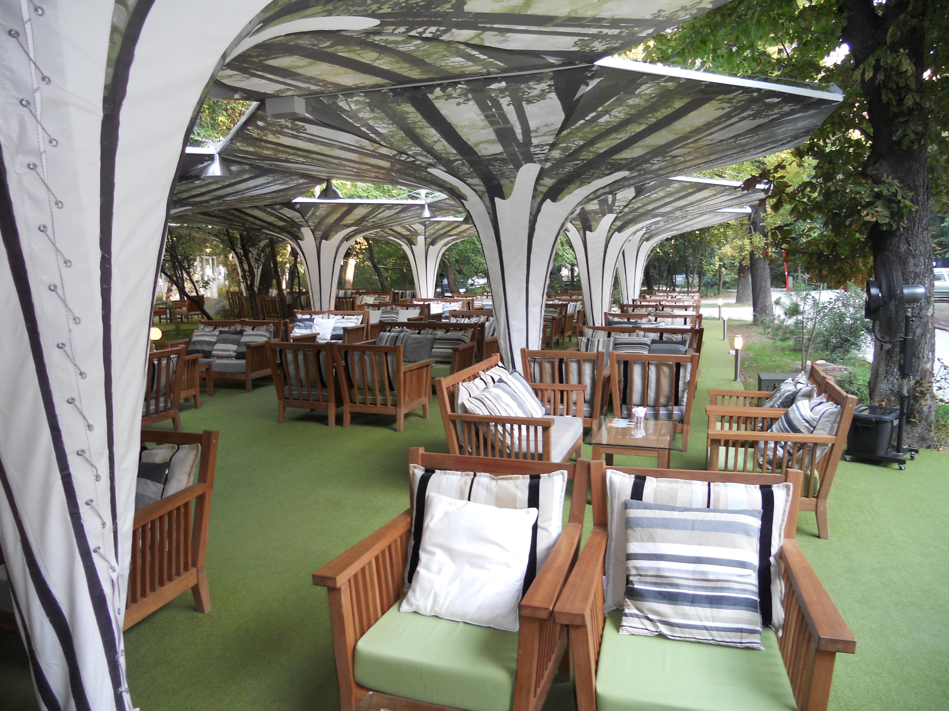 Mese, scaune exterior - Terasa Antipa SENSIO - Poza 6
