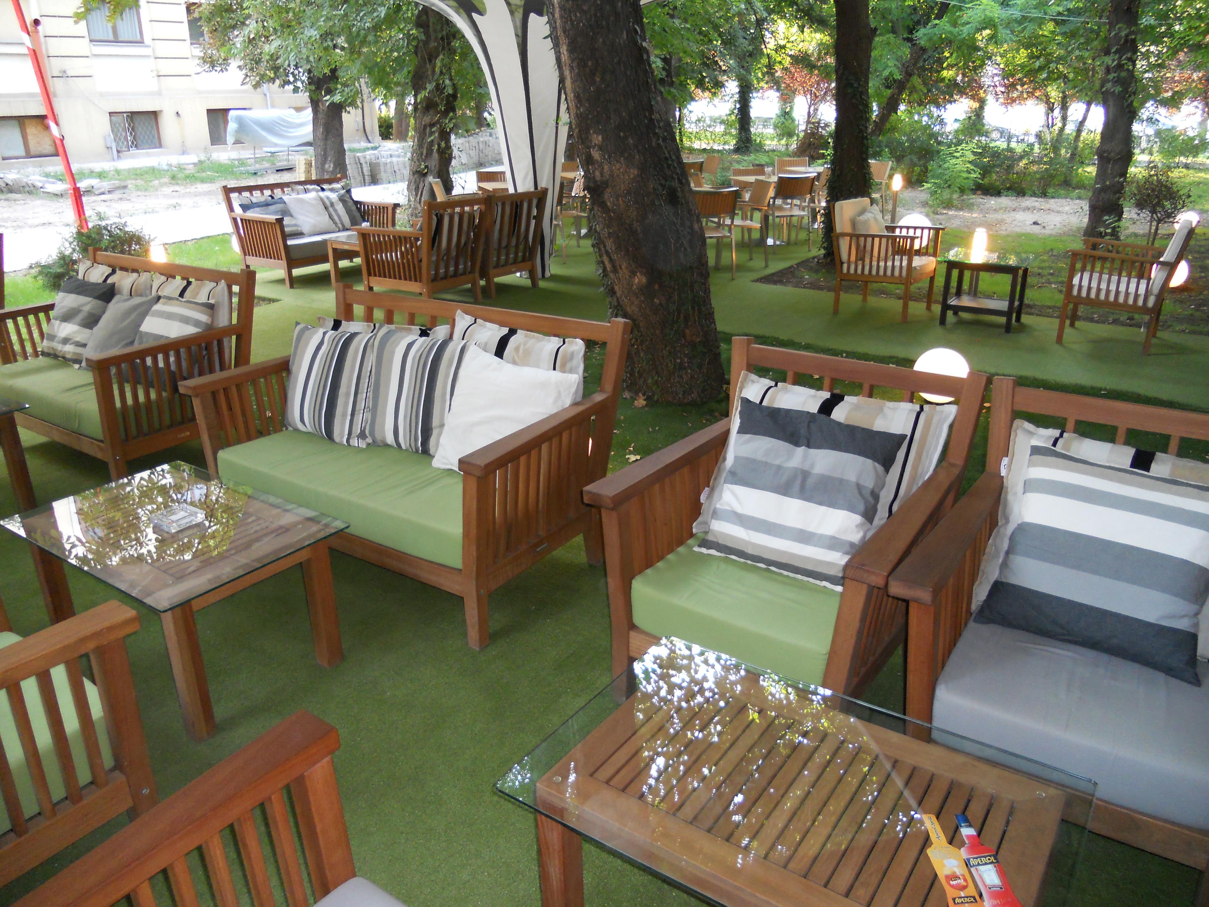 Mese, scaune exterior - Terasa Antipa SENSIO - Poza 11