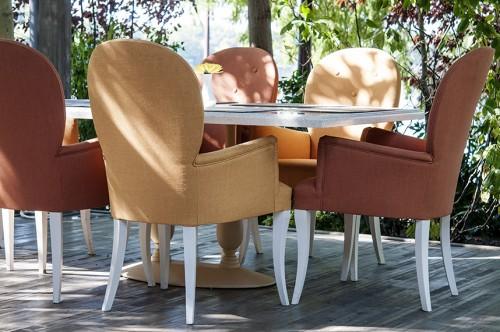 Lucrari, proiecte Mese, scaune exterior - Restaurant AGO Herastrau SENSIO - Poza 2