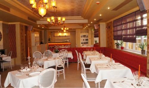 Lucrari, proiecte Amenajare restaurant Hotel SIMFONIA - Ramnicu Valcea SENSIO - Poza 1