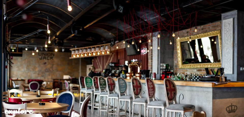 Amenajare Pub Union Jack - Galati SENSIO - Poza 1